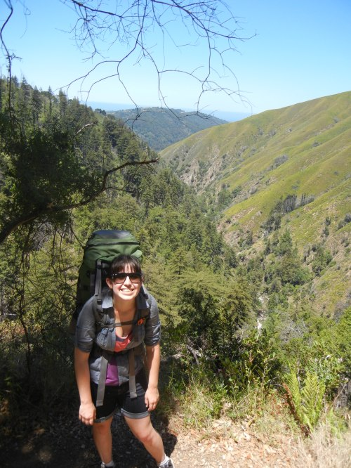 backpacking in big sur, june 2012