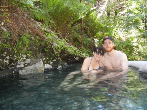 Sykes hot springs, Big Sur